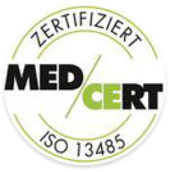 MED CERT - ISO 13485 zertifiziert